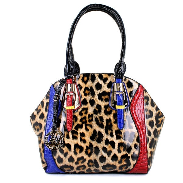 LANY Leopard Glam Satchel