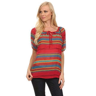 Women's Striped Relaxed Top
