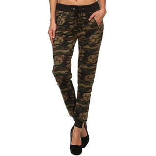 Women's Camo Full-Length Pants