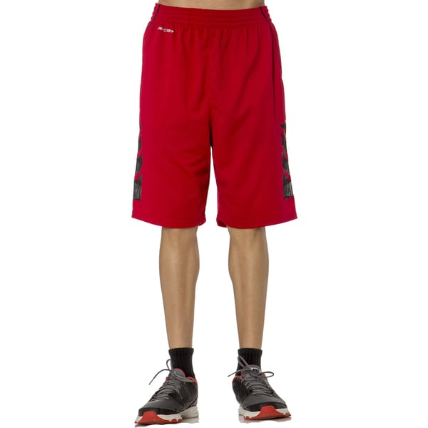 Men's Athletic Tech Short with Laser Cut Inserts