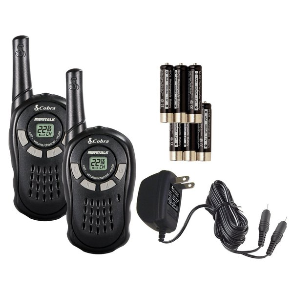 Cobra CXT125 16 Mile 22 Channel Walkie Talkies