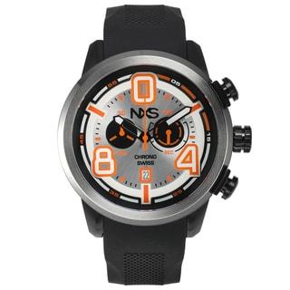 NXS Pastrana Swiss Chronograph Men's Watch 22 mm Stainless Steel Bracelet