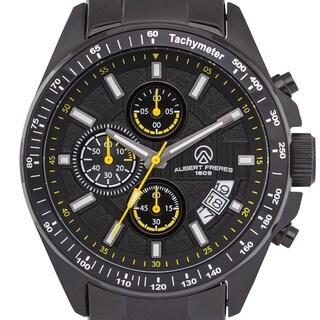 Aubert Freres Batali Men's Chronograph Quartz Watch Stainless Steel Case and Bracelet