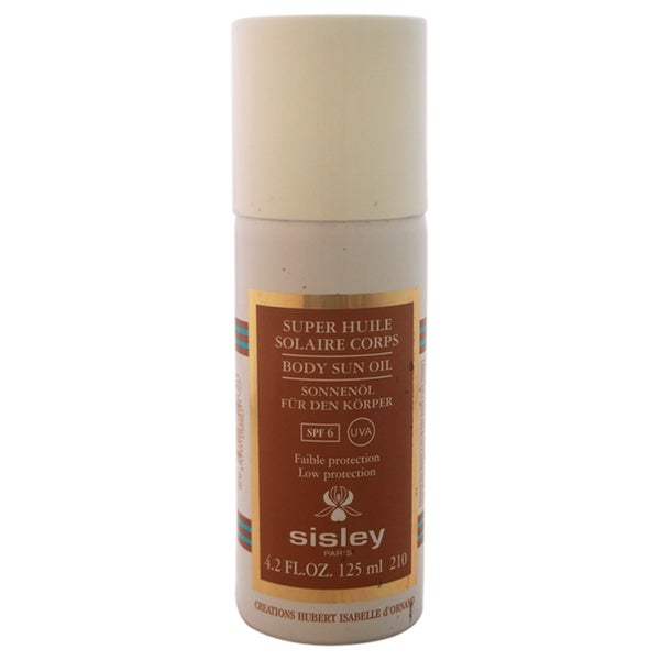 Sisley Body Sun Oil SPF 6 UVA-UVB 4.2-ounce Oil
