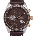 Men's Pierre Bernard Esperto Chronograph Quartz Tachymeter Leather Watch