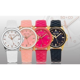 SO&CO New York Women's Crystal Watch