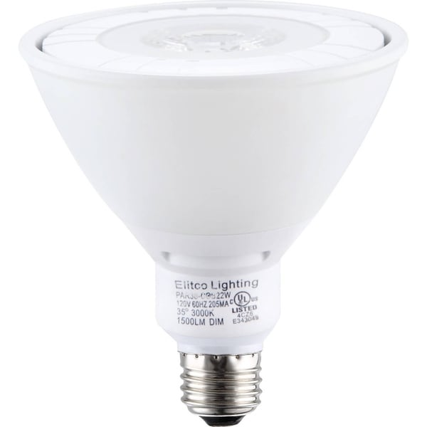 Goodlite COB LED Dimmable 40-Degree Angle 14W 1350 lm PAR38 Spotlight Bulb 120w Equivalent 10-Pack 16726075