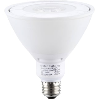 Elegant Lighting Elitco COB PAR38 22-Watt 3000K Reflector Light