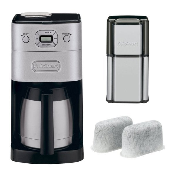 Cuisinart Coffee Maker Replacement Grinder : Cuisinart DGB-650BC Grind & Brew Thermal Coffeemaker + Grind Central Coffee Grinder (Refurbished ...
