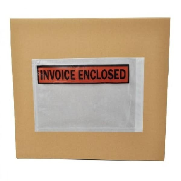 Packing List Invoice Enclosed Envelopes Panel Face 5.5 x 10-inch (Pack of 1000)