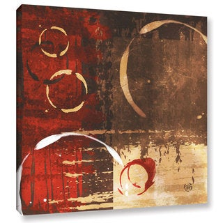 ArtWall Jennifer Pugh's Grunged Red Revolution I, Gallery Wrapped Canvas