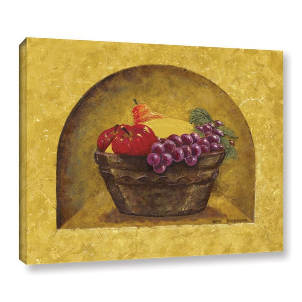 ArtWall Herb Dickinson's Fruit Niche, Gallery Wrapped Canvas