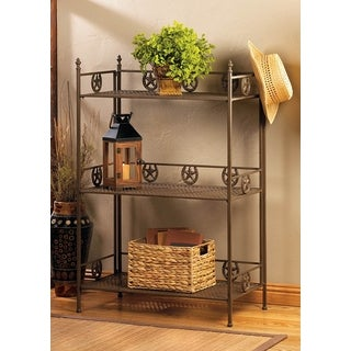 Texas Style 3-tier Iron Rack