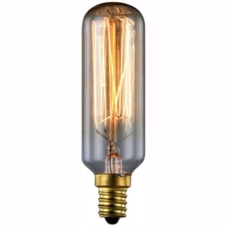 Elitco Lighting Elitco Nostalgic T6 40-Watt 2100K E12 Light Bulb