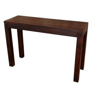Porter Bengali Solid Mango Wood Console Table (India)