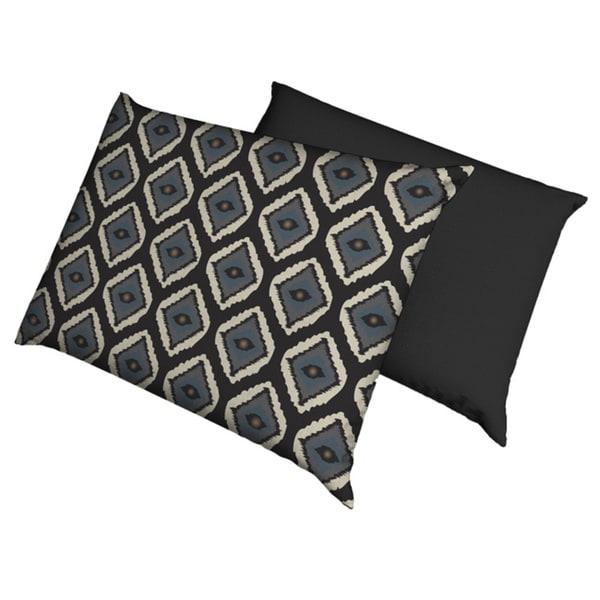 Moody Blues Ikat Waterproof Dog Bed