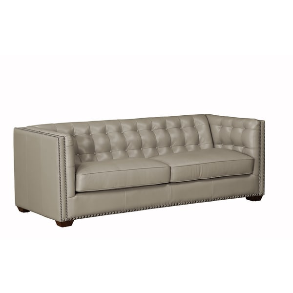 Lazzaro Leather Bel-Aire Clay Sofa