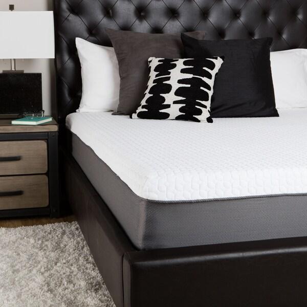 SwissLux European Select 10-Inch Queen-Size Memory Foam Mattress