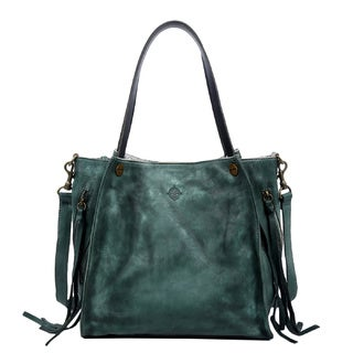 Old Trend 15207 Daisy Green Tote Bag