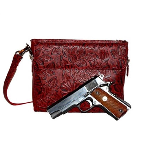 Gun Totin' Mamas GTM-22 Cherry Concealed Carry Handbag