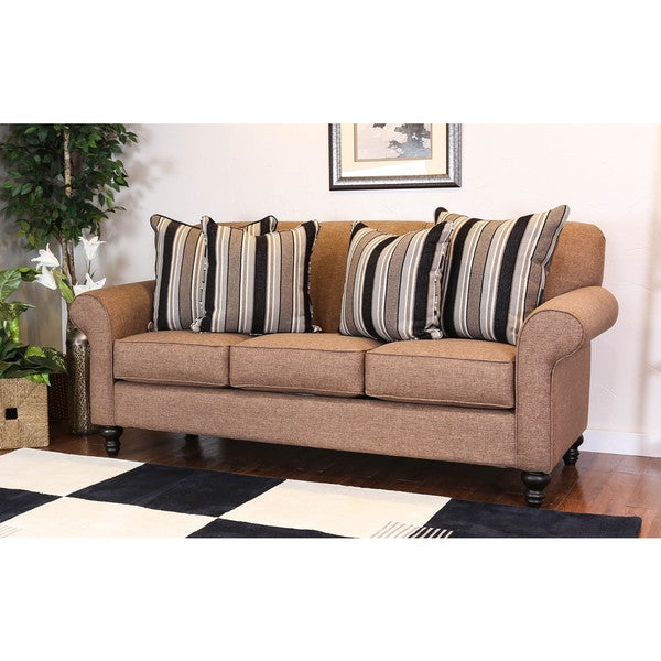 Bombay Outlet Ulster Pecan Sofa