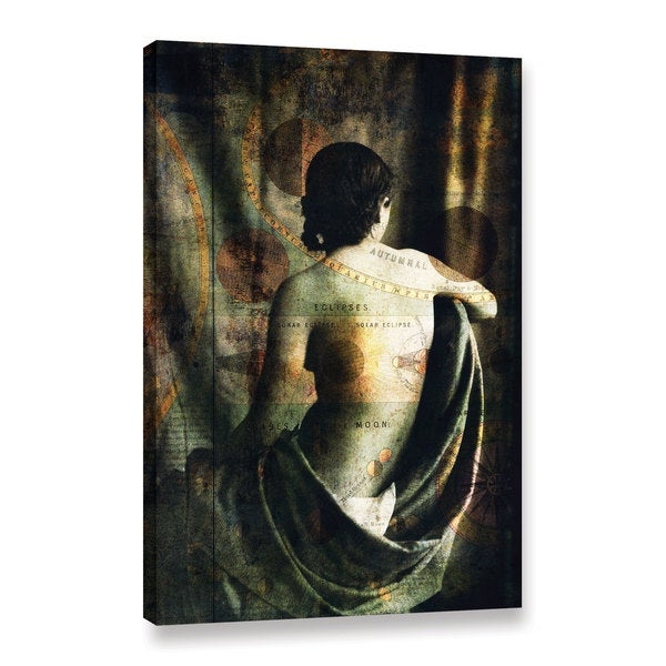 ArtWall Elena Ray 'Woman Of The Sun And Moon' Gallery-wrapped Canvas