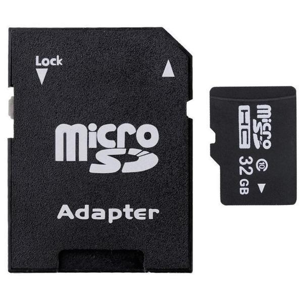 32GB MicroSD HC Memory Card + microSD Adapter