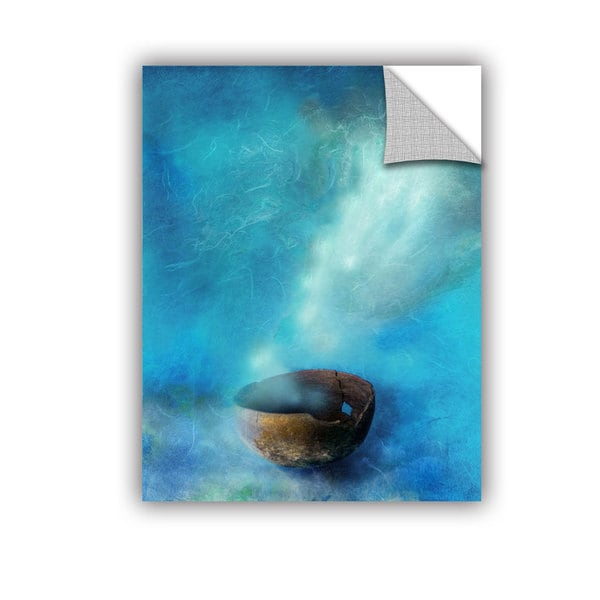 ArtAppealz Elena Ray 'Broken Bowl' Removable Wall Art