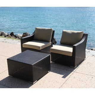 Anne 3-piece Left/ Right Deep Seating Sofa And Coffee Table Set