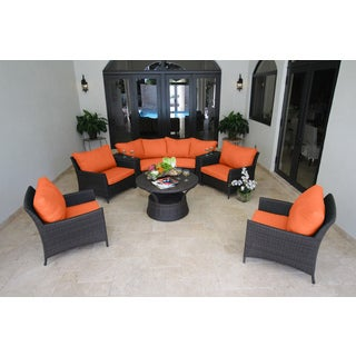 Kipling 9-piece Deep Seating Sectional Set