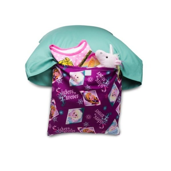 Green Pillowcase with Frozen Pocket Pal