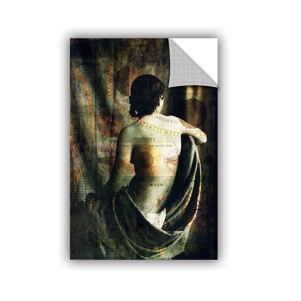ArtAppealz Elena Ray 'Woman Of The Sun And Moon' Removable Wall Art