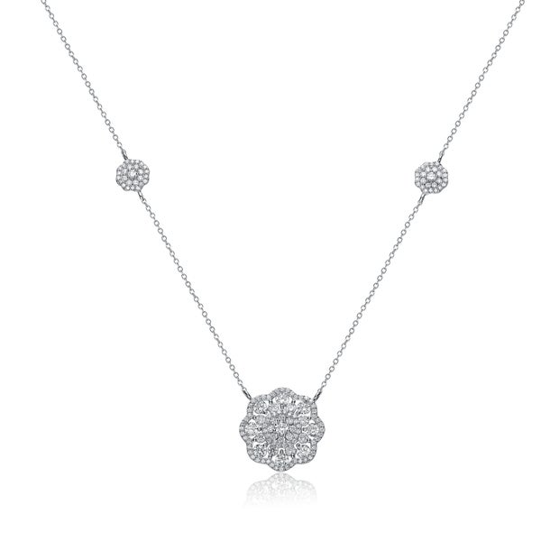 Collette Z Sterling Silver Daisy Pendant