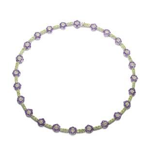 Collette Z Sterling Silver Purple Cubic Zirconia