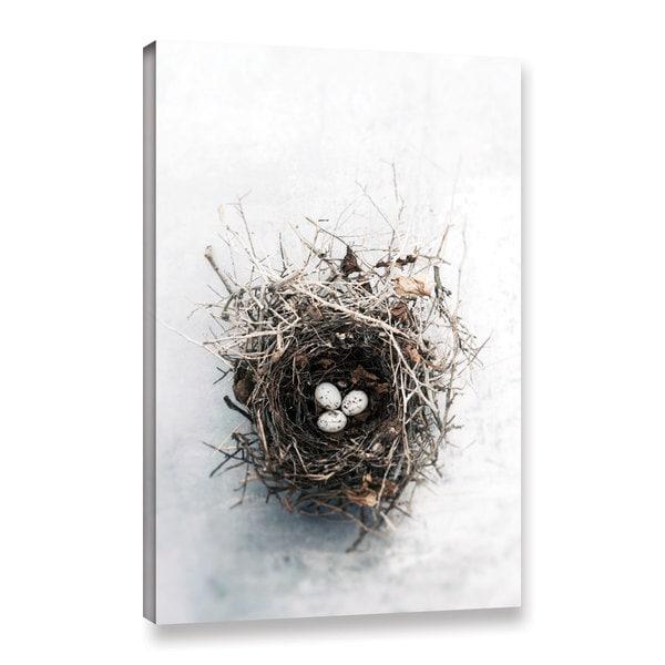 ArtWall Elena Ray 'Bird Nest' Gallery-wrapped Canvas 17056858