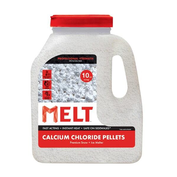 10-LB Calcium Chloride Pellets Ice Melter - Jug - MELT10CCP-J