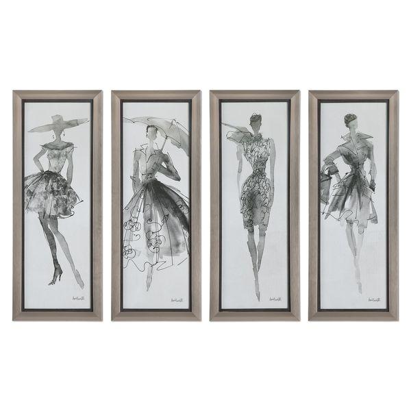 Fashion Sketchbook Art (Set of 4)