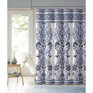 VCNY Maya 100% Cotton Shower Curtain