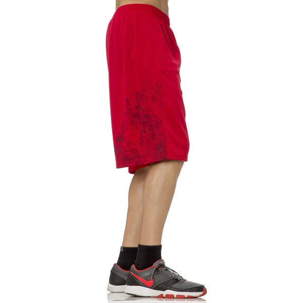 Boy's Laser Cut Insert Athletic Shorts