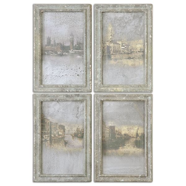 Antique Venetian Views (Set of 4)