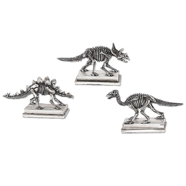 Jurassic Silver Figures (Set of 3) 17057793