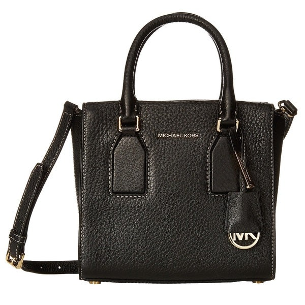 MICHAEL Michael Kors Selby Medium Top Zip Satchel - Black