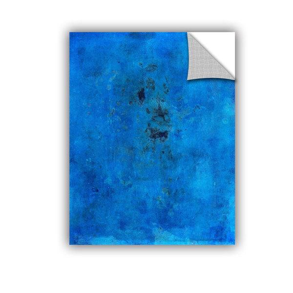ArtAppealz Elena Ray 'Blue Grunge' Removable Wall Art 17057963