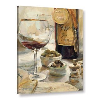 ArtWall Marilyn Hageman's Award Winning Wine 1, Gallery Wrapped Canvas