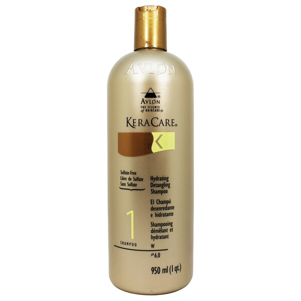 Avlon KeraCare Hydrating 32-ounce Detangling Shampoo Sulfate Free