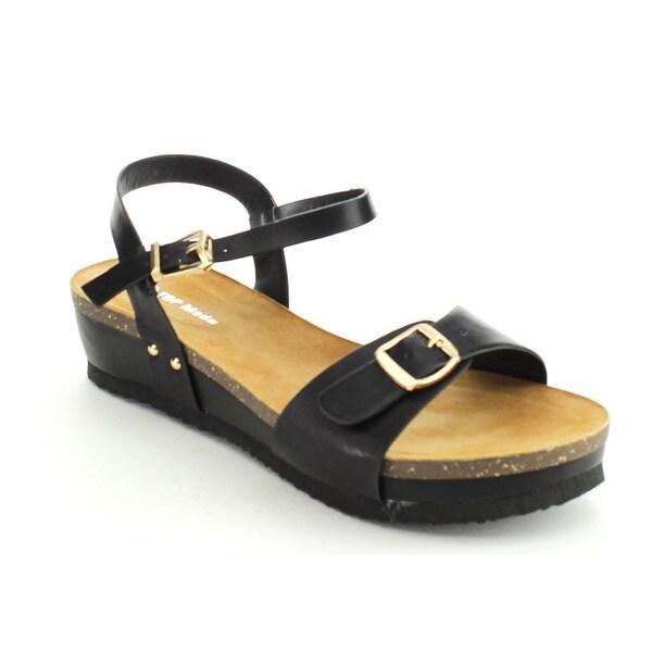 Top Moda PAUL-19 Women's Comfort Sole Platform Sandals