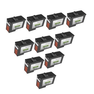 10-pack 7Y743 (X0502) Black Compatible Ink Cartridge for Dell A940Dell A960DELL A940 Inkjet Printerdell A960 (Pack of 10)