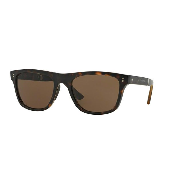 Burberry Men's BE4204 Tortoise Plastic Square Sunglasses