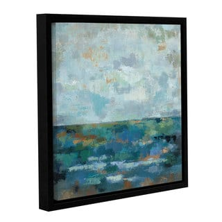 ArtWall Silvia Vassileva's Seascape Sketches 2, Gallery Wrapped Floater-framed Canvas
