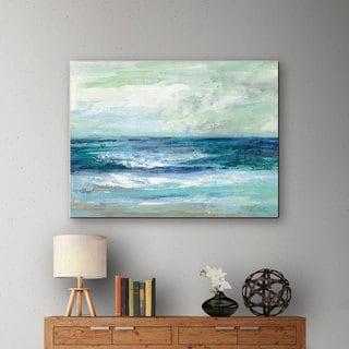 "ArtWall Silvia Vassileva's ""Tide"" Gallery-Wrapped Canvas"